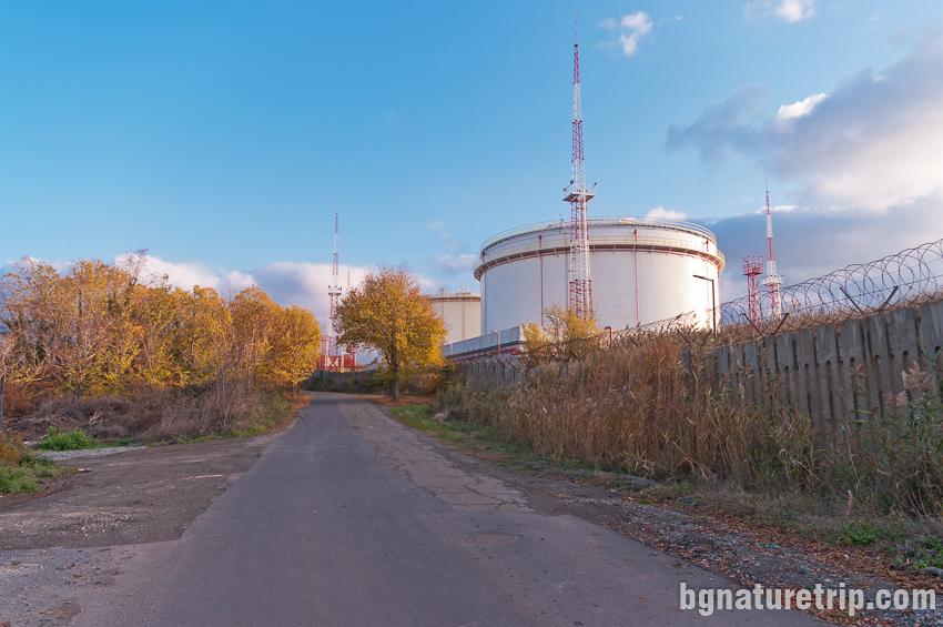Нефтена база Росенец