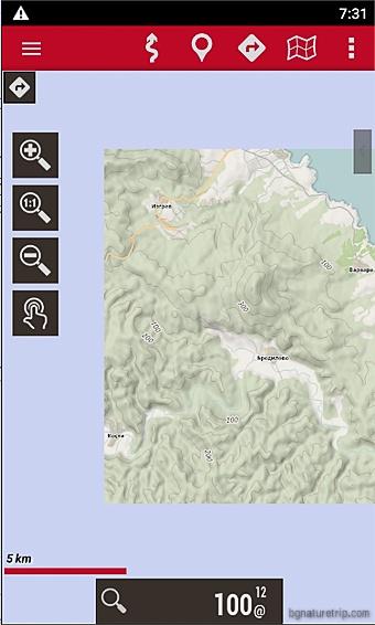 Изрязване на правоъгълник от OpenSeaMap в Oruxmaps, за да се ползва офлайн.